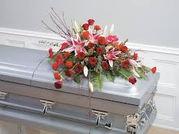 casket spray dazzling forever sympathy casket spray burwell floral