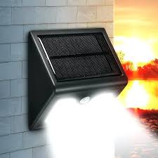 solar wall mounted lights 2 pack solar wall mounted light bright outdoor led wireless solar motion
