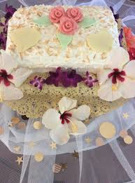 hawaiian wedding cake u2013 precious art by precious people
