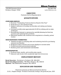 customer service resume customer service representative resume 9 free sle exle