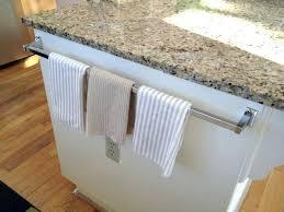 over cabinet door towel bar over cabinet door paper towel holder large size of cabinet paper
