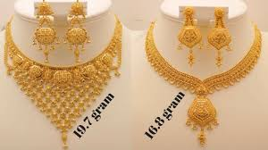 jewelry necklace designs images Latest gold necklace designs collections with weight gold jpg