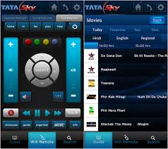 sky guide for android tata sky mobile for android updated with wifi remote program