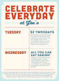 coupons for joe s crab shack joe s crab shack joe s daily specials
