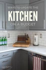 Kitchen Cabinet Trends 2017 Popsugar Three Ways To Update Your Kitchen On A Budget Inspiration For Moms
