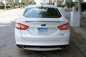 2013 ford fusion exhaust 2013 ford fusion review web2carz