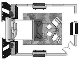 bedroom plan interior design furniture space plan