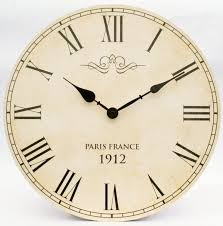 decorative clock component of a large modern wall clocks