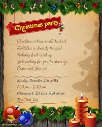 Free Christmas Party Invitation Wording - holiday party invitation wording examples iidaemilia com