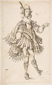 male figure in ballet costume anonymous french 17th century date