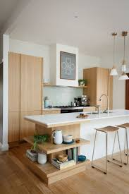 hard maple wood bright white shaker door modern kitchen with