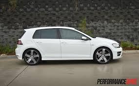 volkswagen white 2016 2014 volkswagen golf r mk7 review video performancedrive
