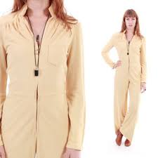 70s jumpsuit womens shop vintage disco clothing for on wanelo