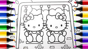book kitty drawing kitty coloring