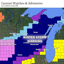 Lacrosse Wisconsin Map by Winter Storm Warning Wisconsin Weather