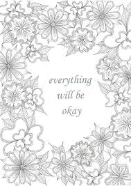 sayings quotes free coloring pages adults popsugar
