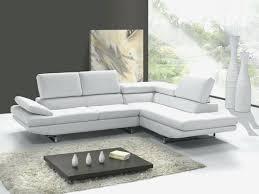 canapé d angle blanc cuir canape blanc en cuir luxe canape d angle blanc cuir canapac dangle 4