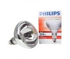 250 watt infrared heat l bulb philips br125 ir 250w e27 230 250v clear any l