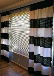 striped bedroom curtains black and white horizontal striped curtains icedteafairy club