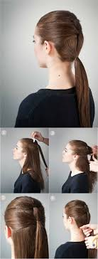 ponytail hairstyles for 23 beautiful hairstyles for school styles weekly
