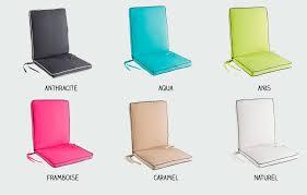 coussin de chaise de jardin coussin fauteuil salon jardin spécial extérieur déhoussable pas cher