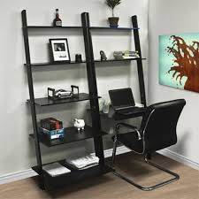 Leaning Bookcases Furniture Home Images About Bookcases And Built In Desks On