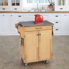 kitchen island cart stainless steel top seville classics stainless steel kitchen cart with shelf she18321b