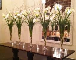 Flowers In Scottsdale Az - elegant white calla lily centerpieces wedding bouquets and
