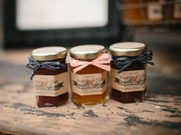 jam wedding favors rustic wedding favors fall in wedding jam favors 150