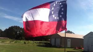 Confederate Flag Alabama 1st National Confederate Flag Youtube