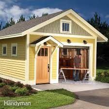 How To Build A Small Storage Shed by How To Build A Shed On The Cheap U2014 The Family Handyman