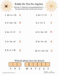 5th grade halloween math worksheets education com