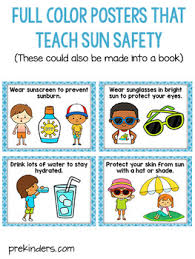 water u0026 sun safety posters and books by karen cox tpt
