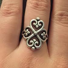 30 avery jewelry avery adorned hearts ring sz