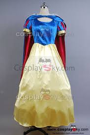 princess snow white fancy dress costume disney princess cosplay