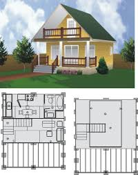 sudbury cabin 16 x 16 with deck building plan 22010 69 99 specials project plans 2000 great woodworking shed cabin