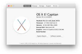 resolving problems with os x 10 11 4