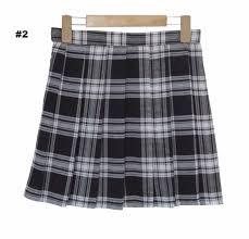 plaid skirt plaid skirts so aesthetic