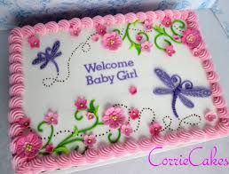 How To Decorate Christening Cake Best 25 Sheet Cakes Decorated Ideas On Pinterest Sheet Cake