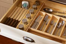 kitchen drawer storage ideas silverware trays divided drawers drawer partitions kitchen