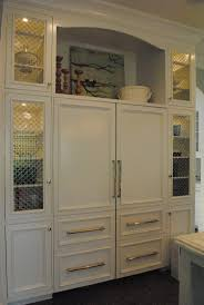 42 best painted kitchen images on pinterest home kitchen and open above refrigerator because who can really reach what s in the cabinet anyway decorative use instead i guess