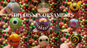 10 easy diy disney ornaments