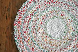 How To Make Braided Rug Make Your Own Braided No Sew Rag Rug One Good Thing By Jillee