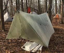 review hammock gear standard dyneema fiber tarp with doors the trek