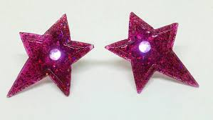 Hologramm Le Jem And The Holograms Inspired Resin Stud Earrings With Led