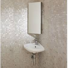 Corner Mirrored Bathroom Cabinet Corner Mirrored Cabinet 670 X 300mm Bathstore