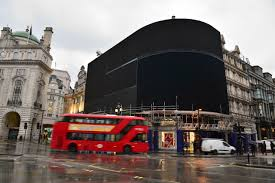 london u0027s piccadilly circus goes dark until late 2017