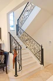 Iron Grill Design For Stairs Modern Stair Grill Designs For Home Interior Trends4us Com