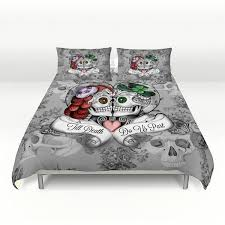 epic skull comforter queen 49 on vintage duvet covers with skull