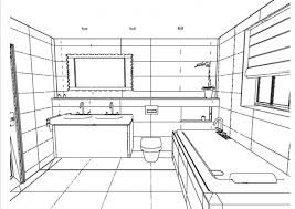 bathroom sketch bathroom design line drawing elevation software